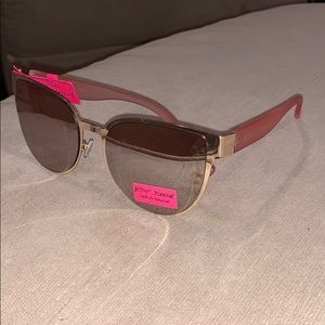 Betsey Johnson Pink Arm Shades